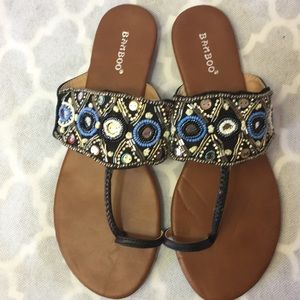 Bohemian Beaded sandals